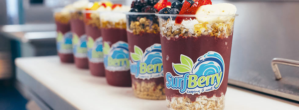 Acai Bowls from SurfBerry